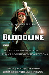 bloodline cover (CarlosHerreraJevc) Tags: photoshop wordpress bloodline rilafukushima wattpad jevcupeditions jevcupeditions fanartsjevc