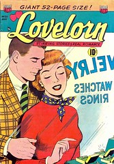 Lovelorn 25 (Michael Vance1) Tags: woman man art love comics artist marriage romance lovers dating comicbooks relationships cartoonist anthology silverage