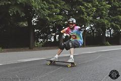 Green Skate Day (pucciarellic) Tags: rome roma green canon eos day skateboarding skating slide riding skate longboard skater eur sk8 sk8er standup longboarding 600d greenskateday