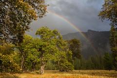 Yosemite, California (Sunny Herzinger) Tags: california travel usa nature weather canon landscape us rainbow unitedstates yosemite yosemitenationalpark 6d canonef1635f4lis