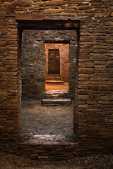 Echo Chamber (Brian Truono Photography) Tags: door old light newmexico building brick history home rock stone wall architecture us nationalpark ancient sandstone glow unitedstates time nps pueblo structure architectural historic worldheritagesite nativeamerican doorway nationalparkservice chaco chacocanyon natives nationalhistoricalpark pueblobonito chacoculture ancientpuebloan nageezi ancestralpuebloans chacoans