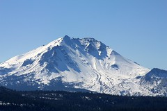 Most Thankful (Ray Bouknight) Tags: mountain snow volcano october hiking lassenvolcanicnationalpark plugdome 2011 lassenpeak