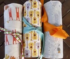 three different rolls (+Eva+) Tags: pencil children ross handmade heather guitars gift bow roll