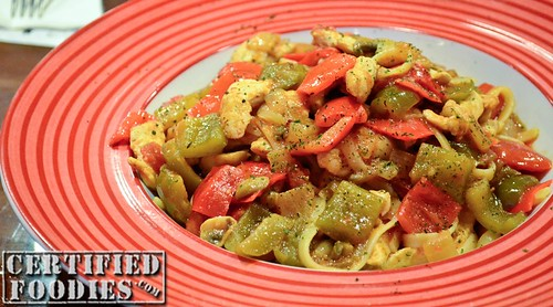 T.G.I. Friday's Cajun Shrimp and Chicken Pasta - CertifiedFoodies.com