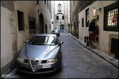 Alfa Romeo (Beau Bye) Tags: street italy car canon florence 7d alfa romeo 1755