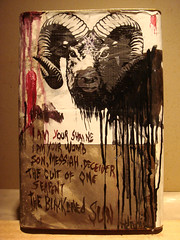 L 07 - 3 (Guerra Weyer) Tags: art mixed media barrels contemporary guerra latas 1349 visceral weyer
