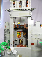 LLOA - Bell Tower Interior (vdubguy67') Tags: city tree castle classic town war king lego fort interior space contest battle queen knight siege moc afol