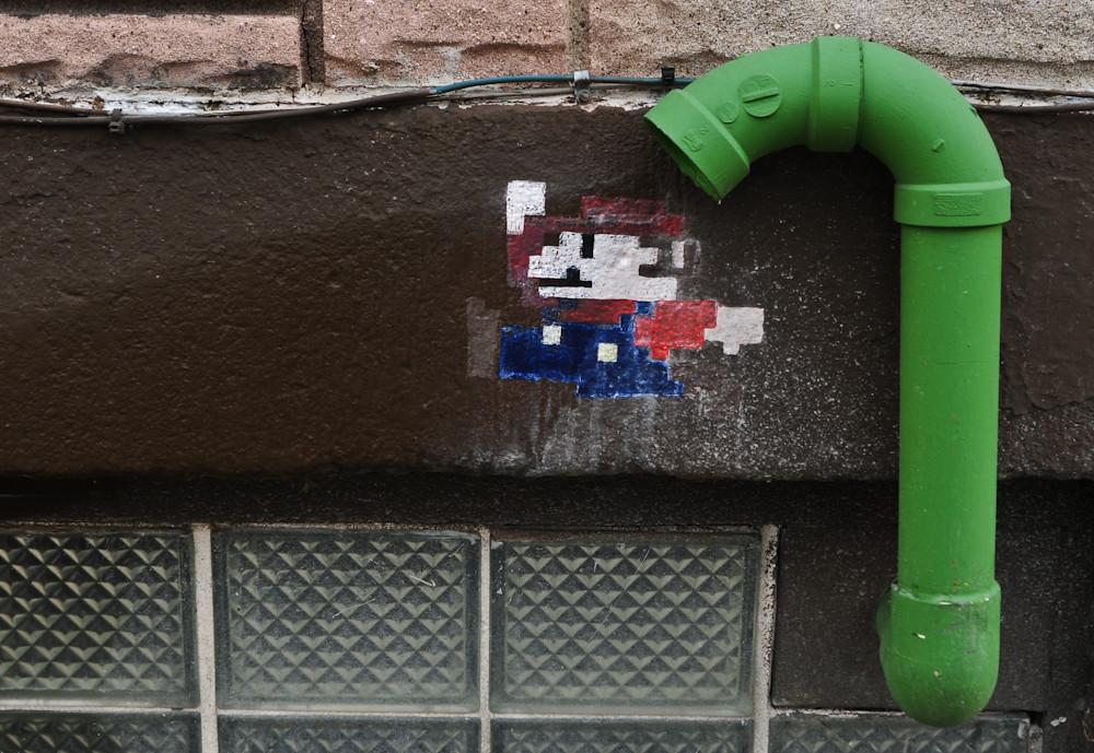 Mario in Pittsburgh (Cadj) Tags  graffiti nikon pittsburgh 28mm pipe sigma super  mario 71cf2ec8a