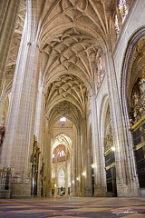 Catedral de Segovia / Segovia's Cathedral (Carlos Solana Contreras) Tags: espaa canon eos spain cathedral edificio catedral segovia 2011 60d pasotraspaso