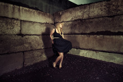 Alison (LukeOlsen) Tags: usa oregon portland concrete industrial bricks legos pw strobist lukeolsen pdxstrobist wl1600 giantbricks