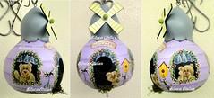 casinha com ursinhos (BILUCA ATELIER) Tags: gourds bees ladybugs cabaas pinturacountry porongos homebirds biluca casinhasdepassarinho