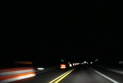 (Julia Manzerova) Tags: road light color car night speed driving roadtrip headlights reflective upstatenewyork newyorkstate ontheroad