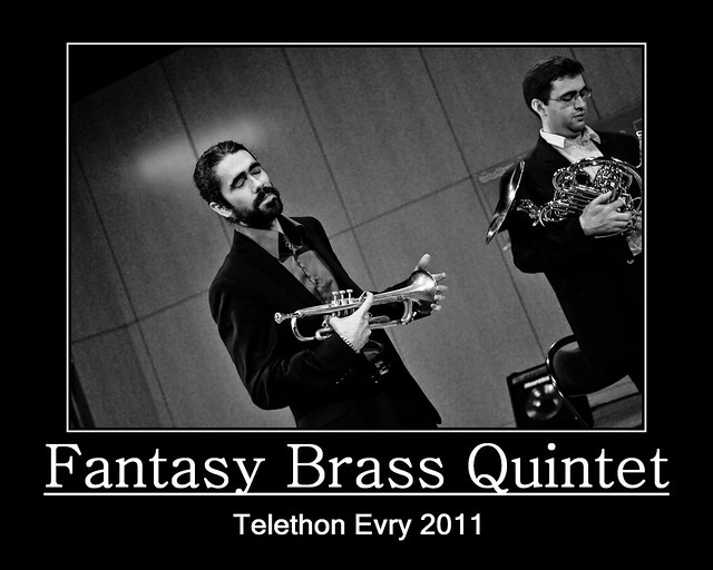 Evry Daily Photo - TELETHON Evry 2011 - Concert Fantasy Brass Quintet 5