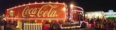 Coca-Cola Christmas Truck Pano