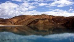 Pangong Tso (Gurv) Tags: blue india lake mountains nature tibet kashmir tso leh ladakh pangong