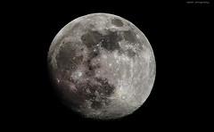 Moon- (F l S f a h .. ❥) Tags: moon تصوير sigma70300 قمر القمر فلسفه اعدادات سيقما flsfah