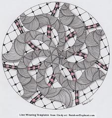 mandala022 (Amaryllis Creations) Tags: mandala penink zentangle zendala