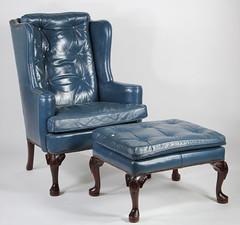 15. Wing Chair and Ottoman