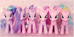 The Pink Pony Herd (Game of Fate) Tags: pink g4 cupcake prototype mlp mylittlepony gameoffate mylittleponyfriendshipismagic mlpfim flitterheart lululuck mylittleponyg4 mylittleponyhasbro mylittleponyhub