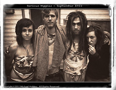 Serious Hippies (Michael Holden) Tags: seattle hippies serious dreads alternative damnkids