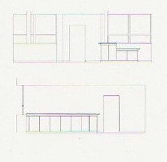 Salvation reception elevations (Peter Newton, Assoc AIA, CSBA, PMP) Tags: religious salvationarmy stlouis missouri renovation washingtonuniversity stlouisuniversity kmox tenantimprovement commercialinteriors bankbuildingcorporation