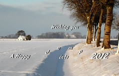 2011-2012......1-2-3 go!! (powerfocusfotografie) Tags: winter snow netherlands landscape nikon wish groningen henk happynewyear 2012 powerfocusfotografie brintahuisje