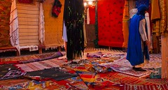 Maison de Berbere (ALSPICT) Tags: africa red color wool shop carpet design colorful pattern african traditional decoration culture arabic textile morocco berber fabric souk rug material bazaar orient moroccan