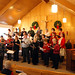 "The Community Choir, Indian Lake, recently performed the Chrismas Contata, ""On This Very Night"", directed by Karen Butters. Photo by Bob McKenney."