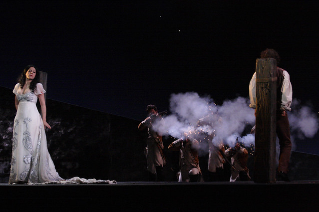 "Jonathan Kent's production of Tosca during the Royal Opera House 2010/11 season.   <a href=""http://www.roh.org.uk"" rel=""nofollow"">www.roh.org.uk</a> Photo: Catherine Ashmore"