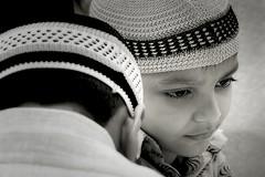 The Moon of eid (debjani_click) Tags: boy india children eid culture custom potrait kolkata
