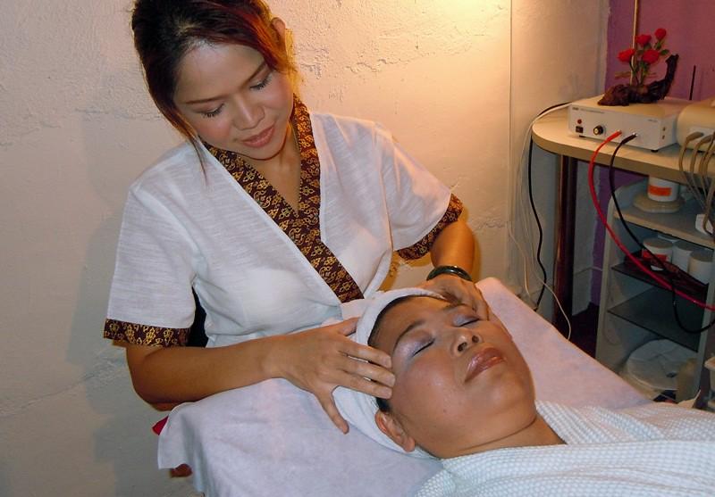webbkamera massage ansiktsbehandling i Stockholm