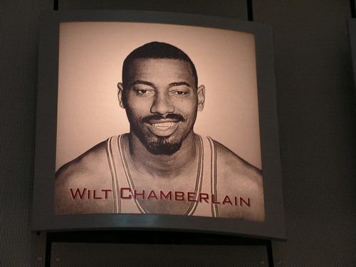 WILT CHAMBERLAIN EXHIBIT PHOTO by JeromeG111, on Flickr
