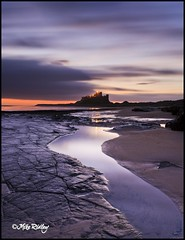 Bamburgh Castle first light (Mike Ridley.) Tags: seascape dawn northumberland coastline canon1740mmf4lusm bamburghcastle leefilters canon5dmkll fellwalker1
