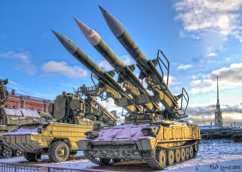 Russian Air-Defense Missile System.
