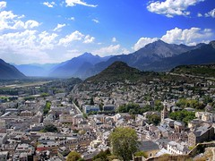Sion @ Switzerland (mujepa) Tags: city panorama mountains alps alpes switzerland town cityscape suisse hill ville sion valais montagnes valere mygearandme blinkagain photographyforrecreationeliteclub rememberthatmomentlevel1 rememberthatmomentlevel2 rememberthatmomentlevel3