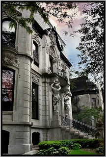 Europe Comes to Chicago ~ Francis J. Dewes House ~ Chicago Il. ~ 1896 ~ Exterior