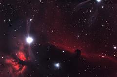 IC434 - Horsehead Nebula (Alfredo Beltrán) Tags: photoshop canon colombia bogotá nebula dslr phd horsehead celestron iso1600 c6 sct 500d ssag cs5 deepskystacker Astrometrydotnet:status=solved ioptron t1i Astrometrydotnet:version=14400 ieq45 f60m3 Astrometrydotnet:id=alpha20111268212690