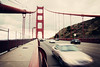 US 101 (Leighton Wallis) Tags: sanfrancisco california road birthday ca usa motion blur cars movement wire suspension steel unitedstatesofamerica pylon 75thanniversary ggnpc11