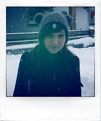 snow! sister! (aeronomy) Tags: winter sister 2011 hipstr picturestoalleviateboredom