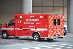 LOS ANGELES FIRE DEPARTMENT (bravo457) Tags: lafd ambulance losangelesfiredepartment lafire losangelesfire uclamedicalcenter