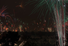 ::. Feuerhimmel.:: (MWD-Pictura) Tags: silvester neujahr feuerwerk d80 neujahrswünsche neujahrsfeuerwerk