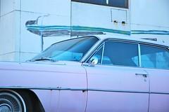 pink detail shop cadillac 1964