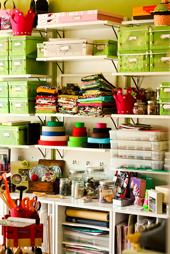 Craft Room by chrissy.farnan, on Flickr