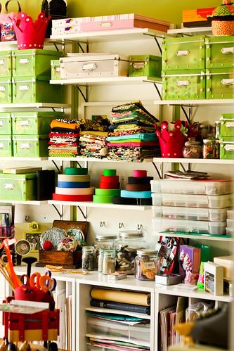 Craft Room by chrissy.farnan, on Flickr