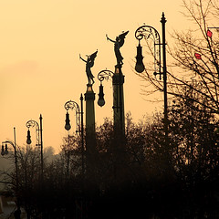 Time of angels (G. For._active again) Tags: bridge evening prague angels bestcapturesaoi
