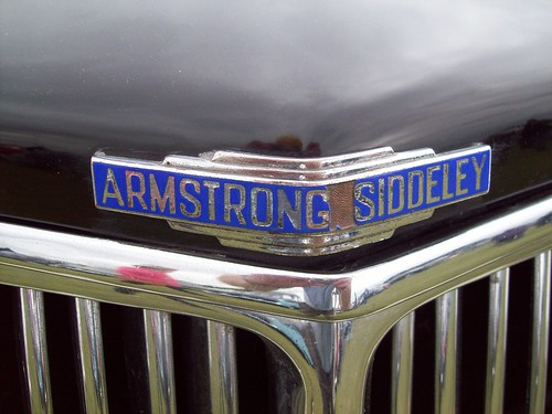 11 Armstrong Siddeley Badges
