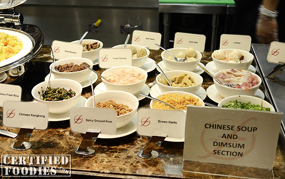 Chinese Soup and Dimsum Station