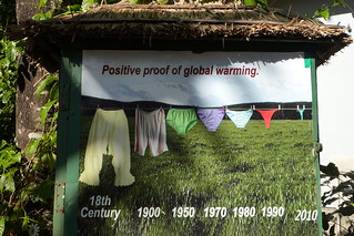 Positive proof of Global warming