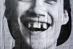 THE NACHONAL  Museo de Arte Callejero (Museo de Arte Callejero) Tags: chile santiago streetart blancoynegro galeria afiches intervencin muaca nachorojas museodeartecallejero pasoniveldiagonalparaguay