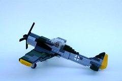 FW-190a3 (thirdwigg) Tags: plane airplane lego air wwii fw190 moc luftwaffe wulf focke luftwalfe